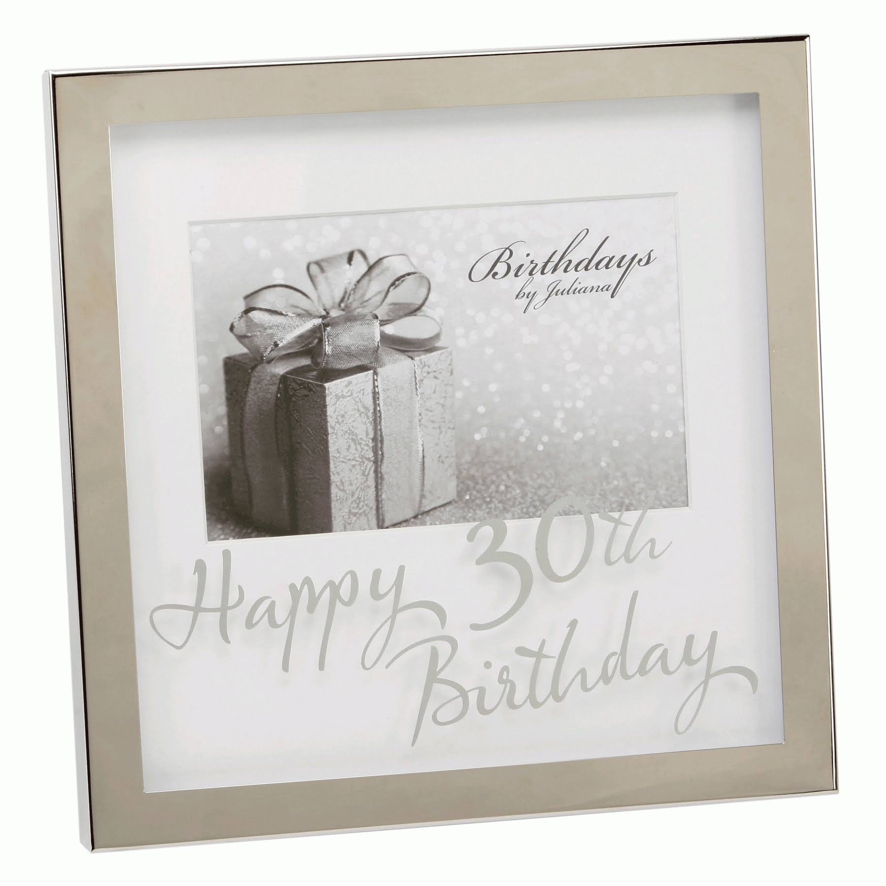 Juliana Happy 30th Birthday 6 x 4 Photo Frame