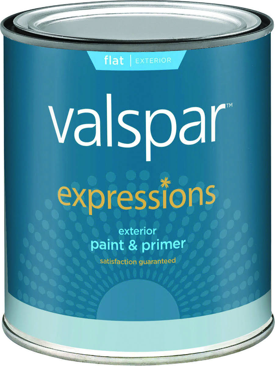 Valspar Expression Paint and Primer - Pastel Base, Exterior, 1qt