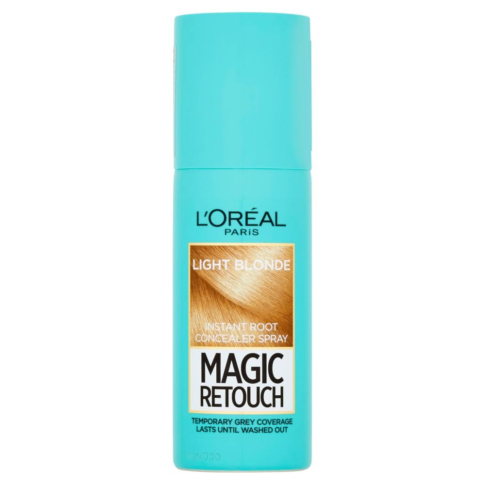 L'Oreal Paris Magic Retouch Instant Root Concealer - Light Blonde, 75ml