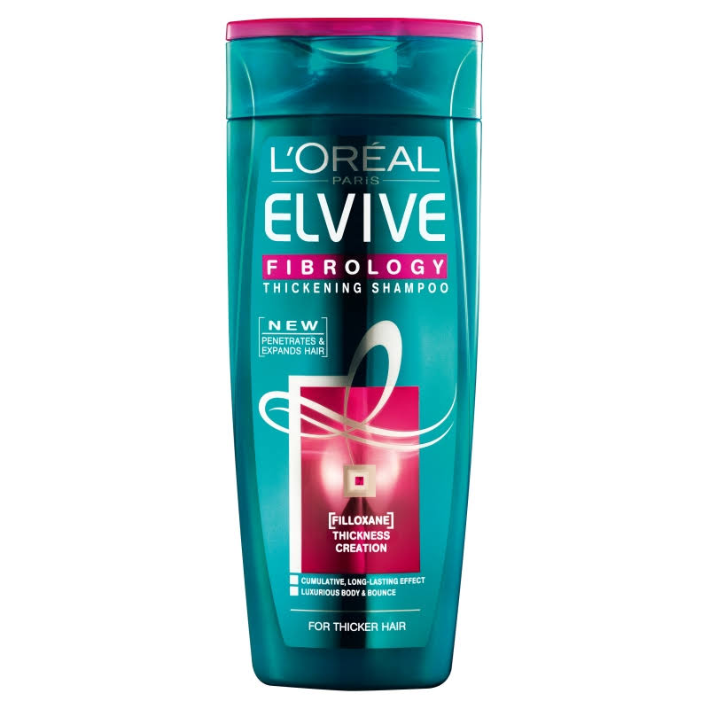 Elvive Fibrology Shampoo 400ml