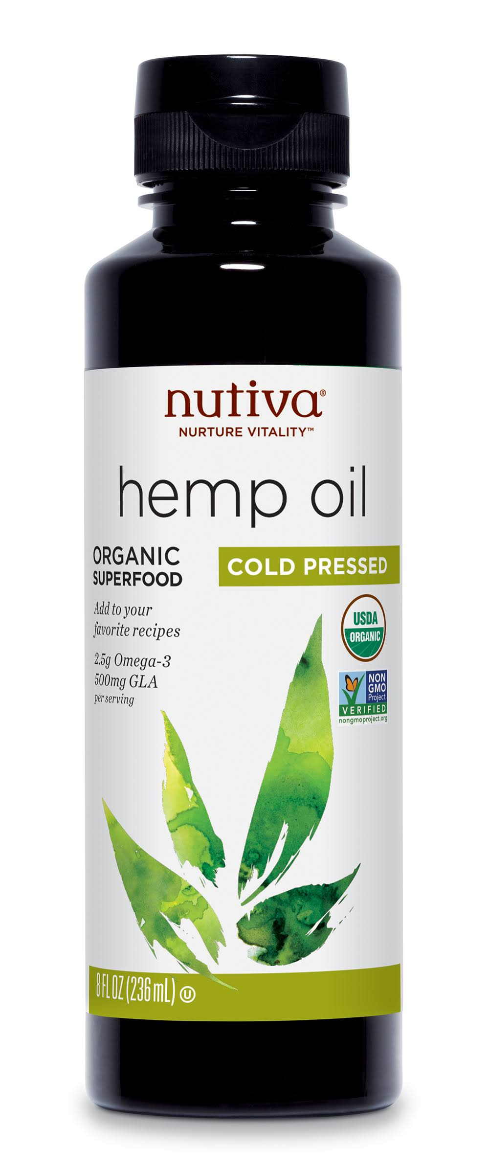 Nutiva Organic Hemp Oil - 8oz