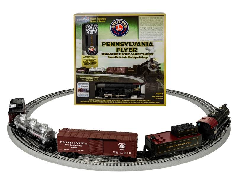 Lionel Pennsylvania Flyer LionChief 0-8-0 Freight Set
