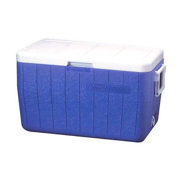 Coleman 5248B718G Chest Cooler - Blue, 48qt