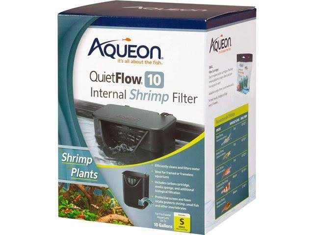 Aqueon Quiet Flow 10 Internal Shrimp Filter