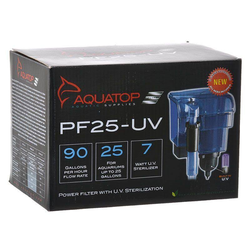 Aquatop Pf25uv HangOn Filter - with UV Sterilization