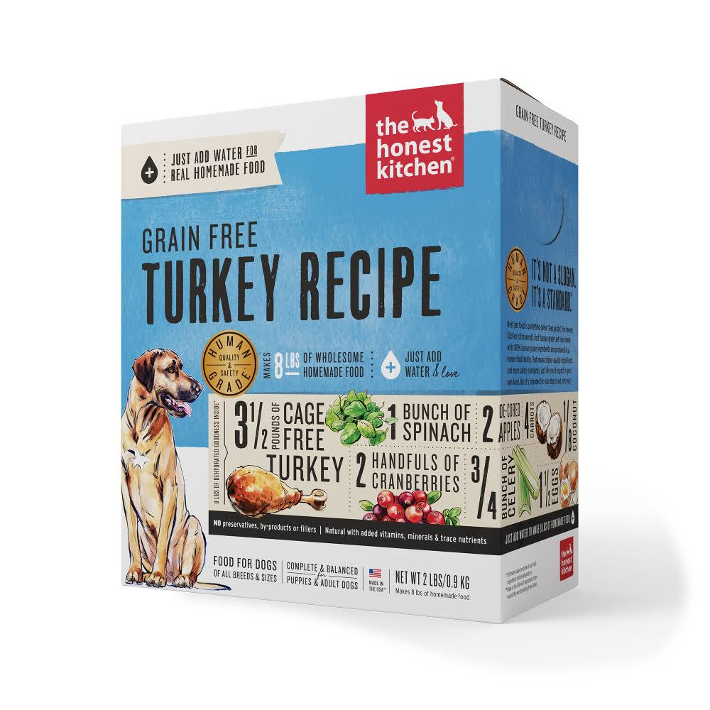 The Honest Kitchen Dehydrated Grain Free Dog Food - Turkey, 10lb