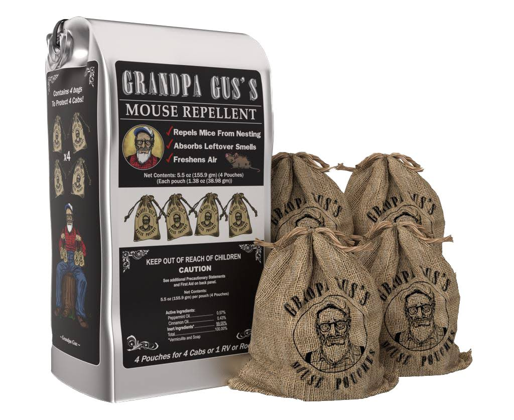 Grandpa Guss Natural Rodent Repellent Pouches