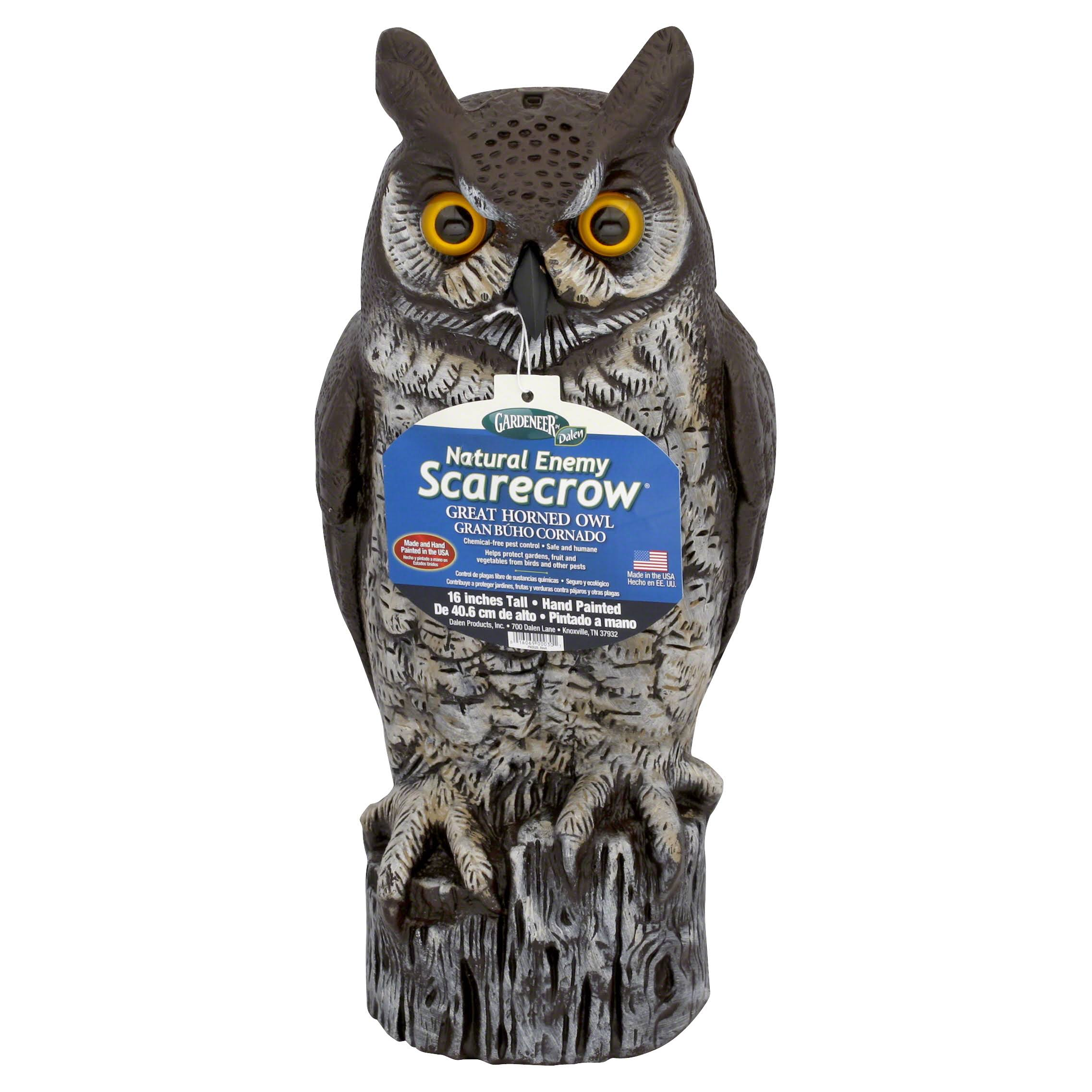 Dalen Gardener Heavy Duty Great Horned Owl - 16""