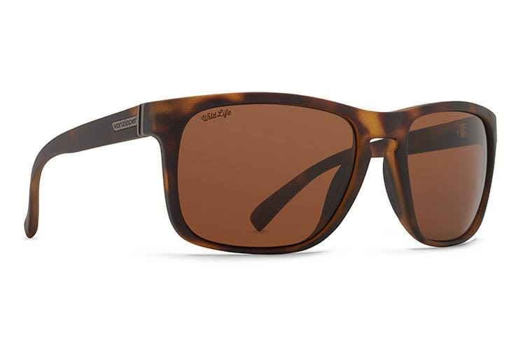 VonZipper LOMAX (Tortoise/Bronze) Polarized Sunglasses
