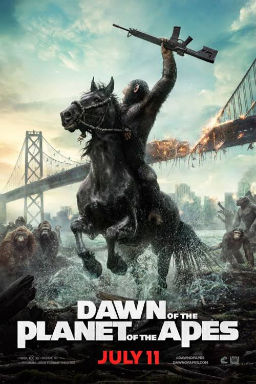 Dawn of the Planet of the Apes 2014 Full Movie Download BluRay 720p 1GB