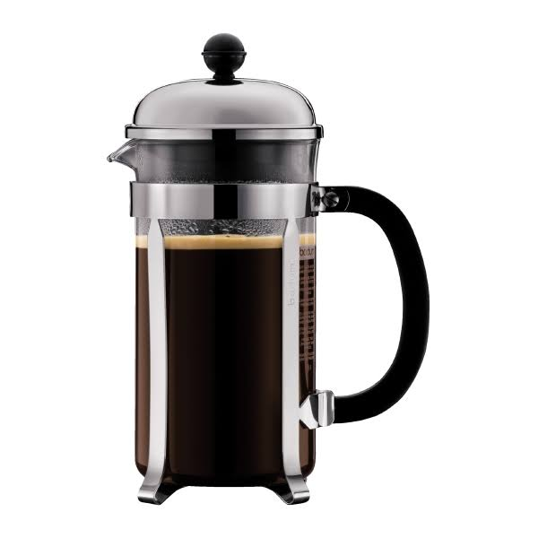 Bodum Chambord French Press Coffee Maker - Chrome, 8 Cup