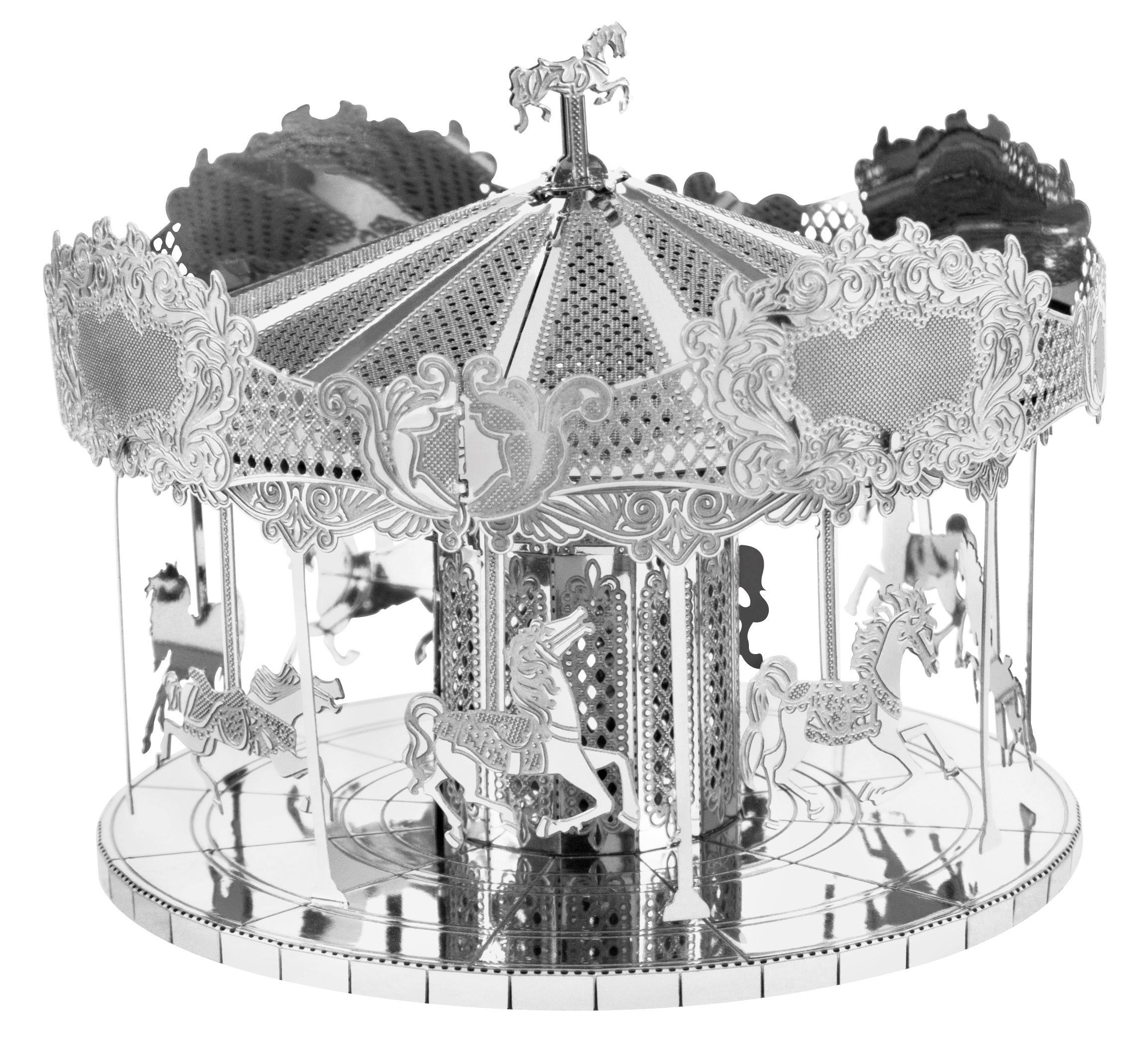 Fascinations Metal Earth 3D Laser Cut Model - Merry Go Round