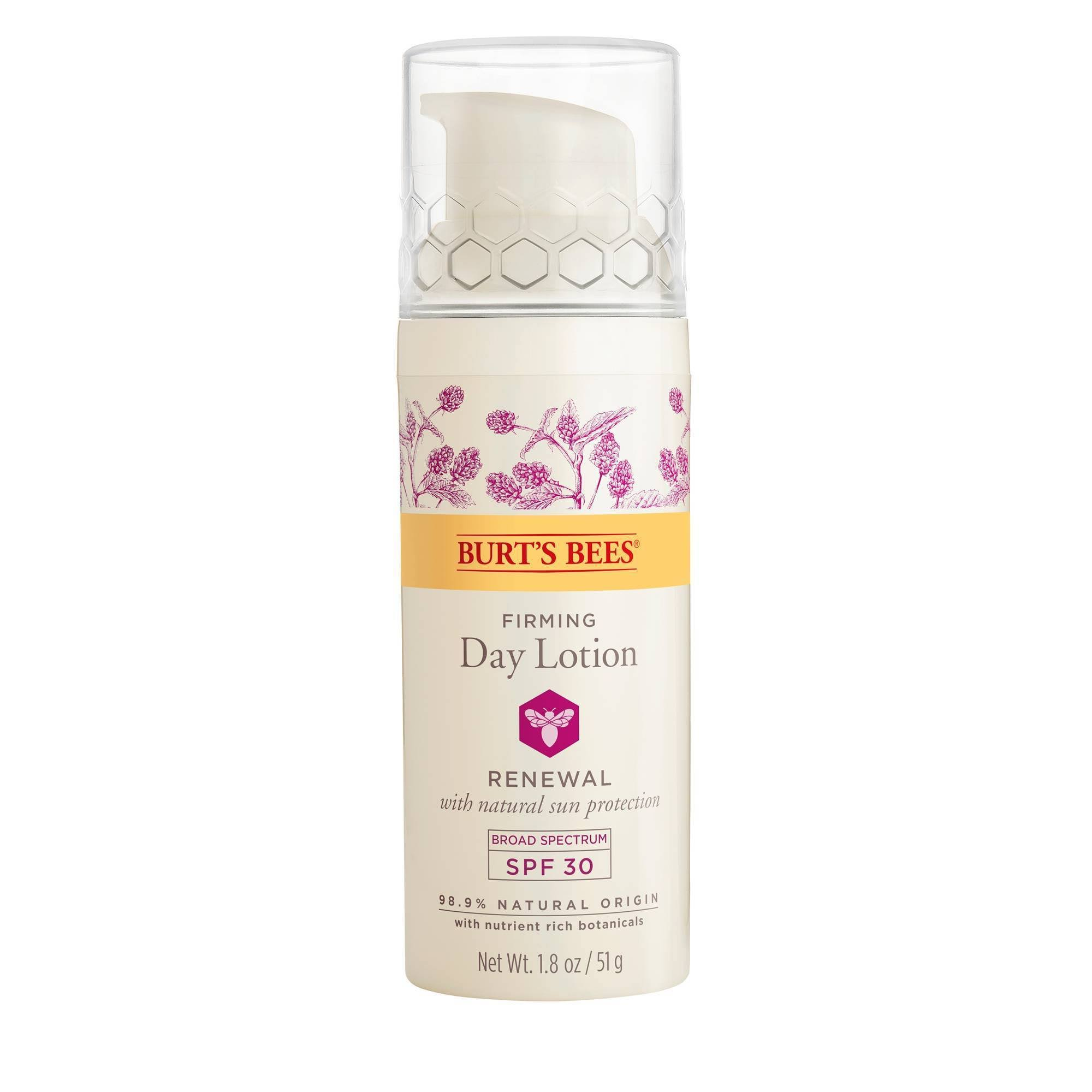 Burts Bees Day Lotion, Firming, Broad Spectrum SPF 30 - 1.8 oz