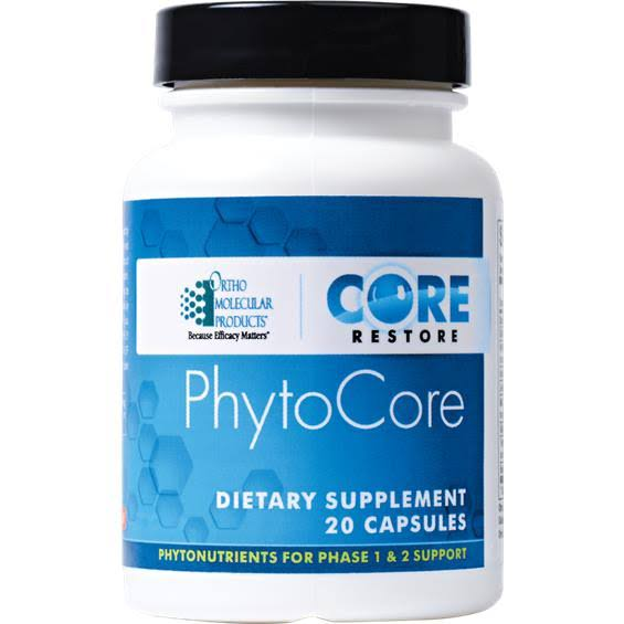 Ortho Molecular Products Core Restore Phytocore Dietary Supplement - 120 Capsules