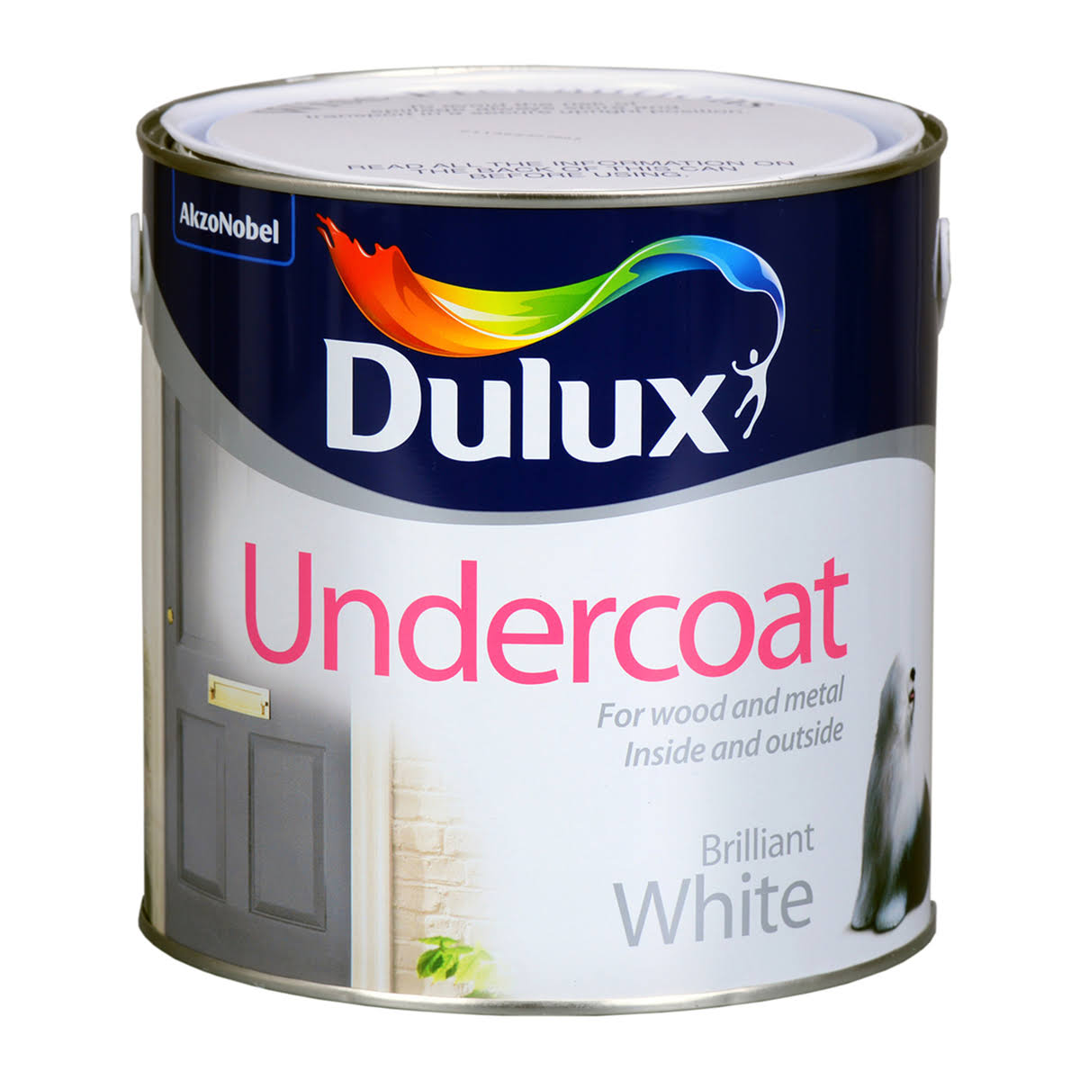 Dulux Undercoat Paint - Black