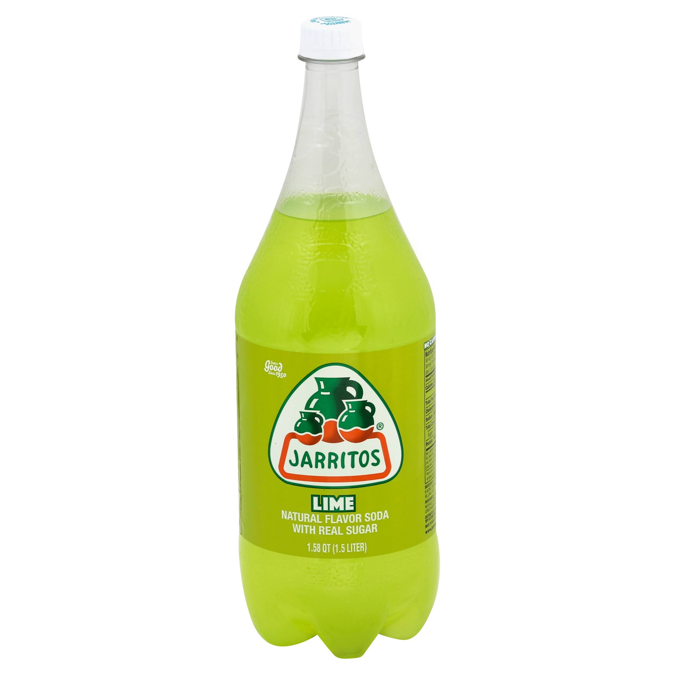 Jarritos Lime Soda - 1.5L