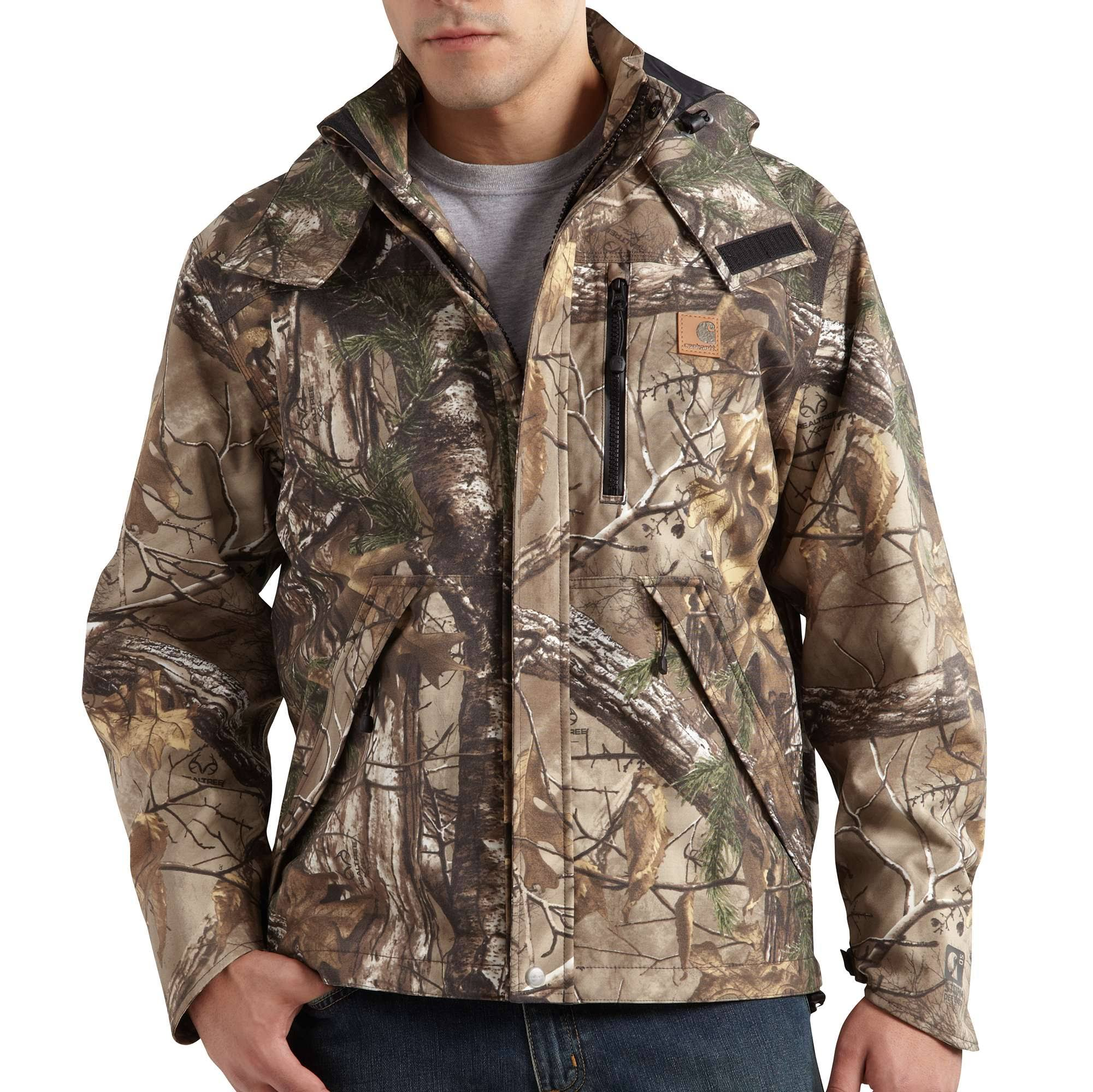 Carhartt Men's Camo Shoreline Jacket (XL Realtree Xtra)