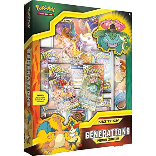 Pokemon Tag Team Generation Premium Trading Card Game
