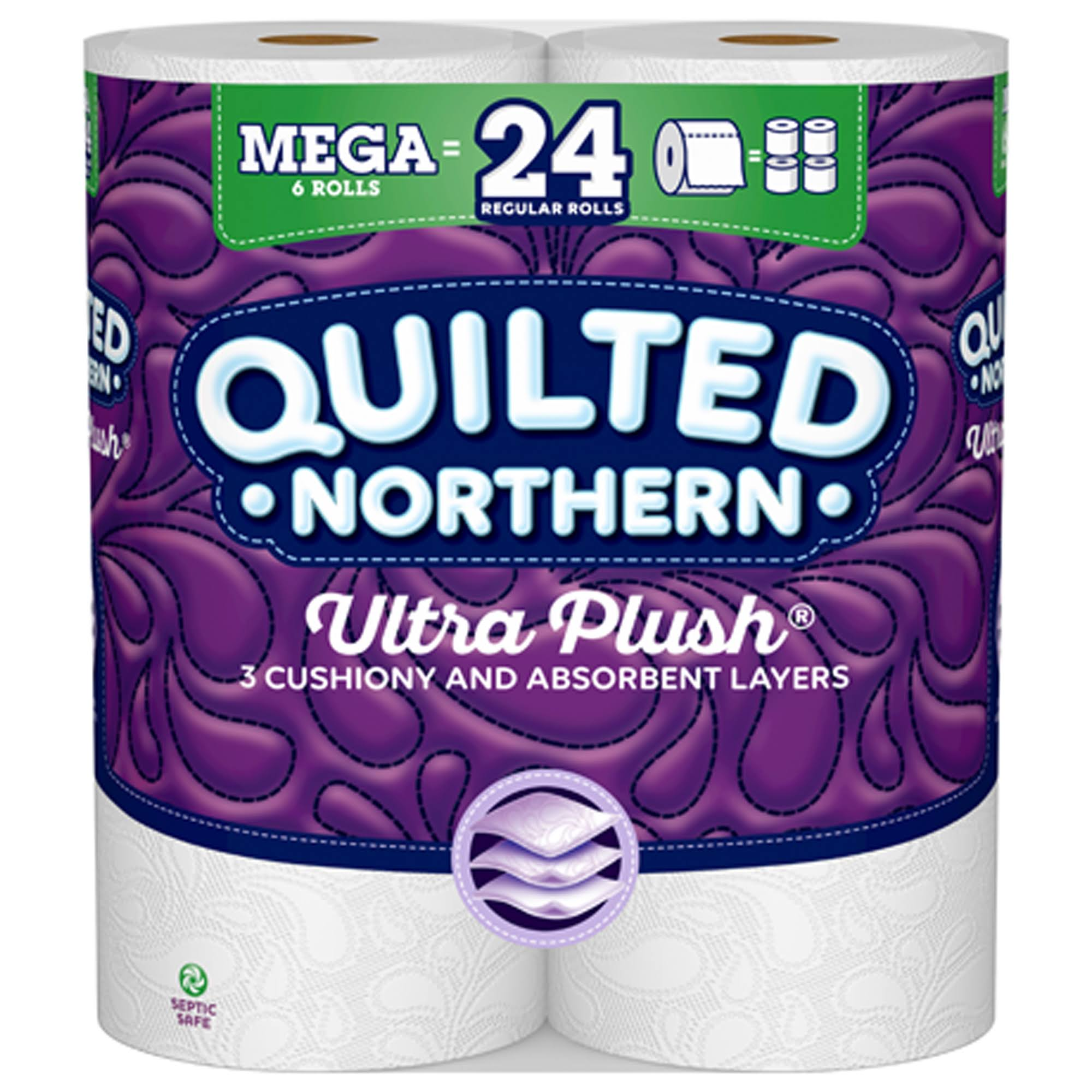 Quilted Northern Ultra Plush Toilet Paper - 6 Rolls
