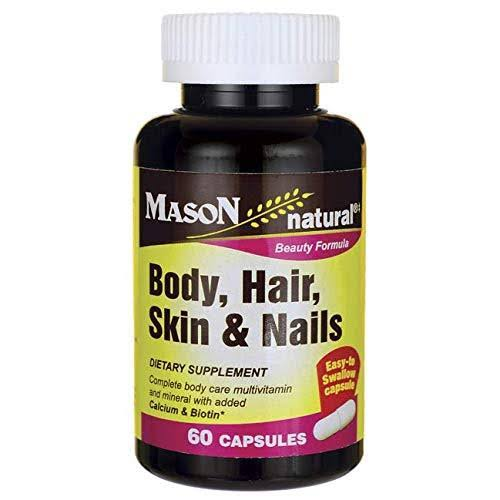 Mason Natural Beauty Formula Body, Hair, Skin and Nails Supplement - 60 Capsules