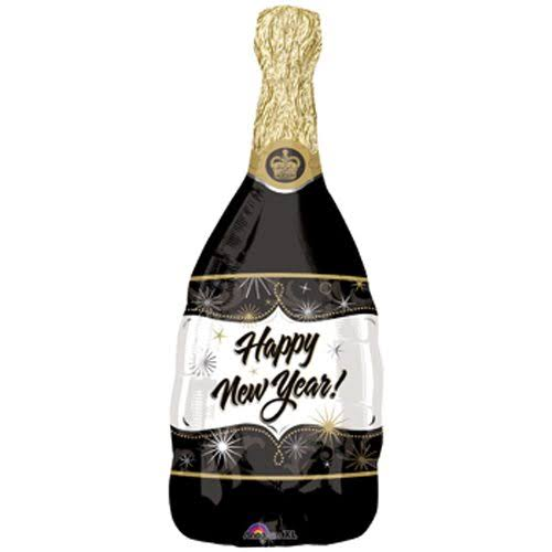 Amscan Super Shape Champagne New Year Balloon