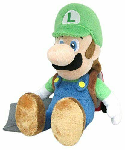 Super Mario Bros Luigi Poltergust Plush Toy - 10""