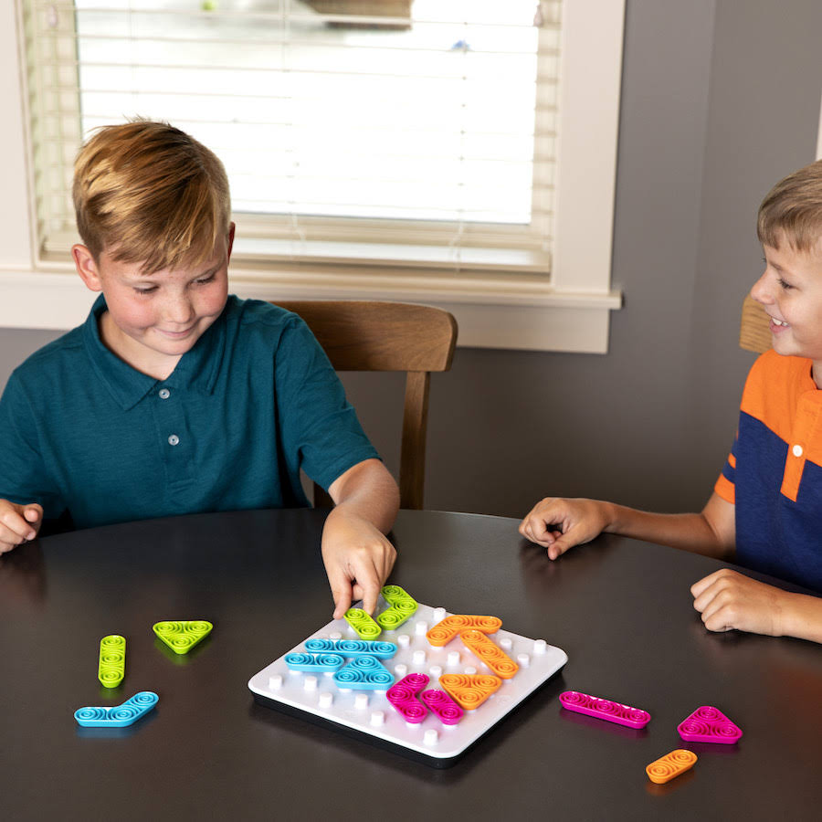 Fat Brain Toys Gridblock Games - for Ages 8 to 12 Months