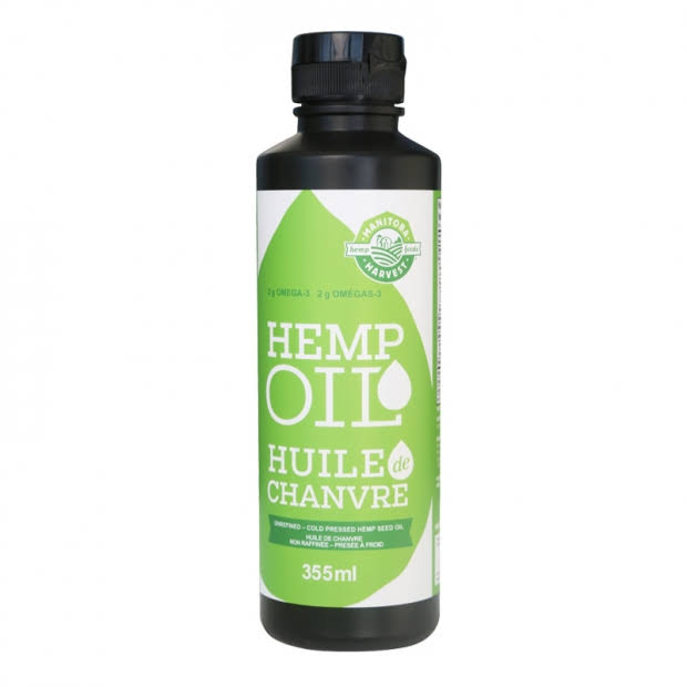 Hemp Bliss Manitoba Harvest Hemp Seed Oil - 355ml