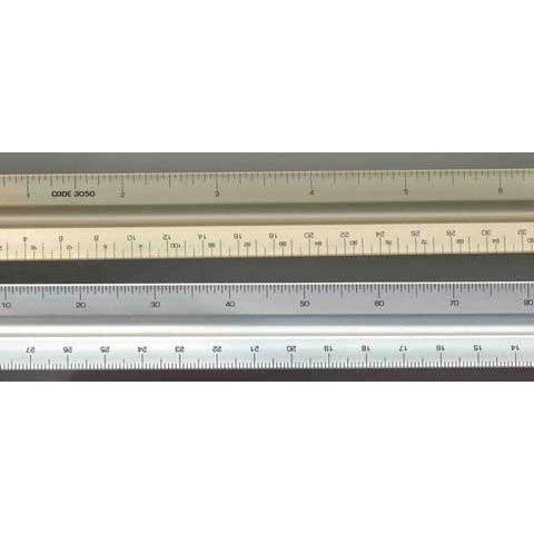 "Alumicolor 12"" Architect Scale - solid/color Coded"