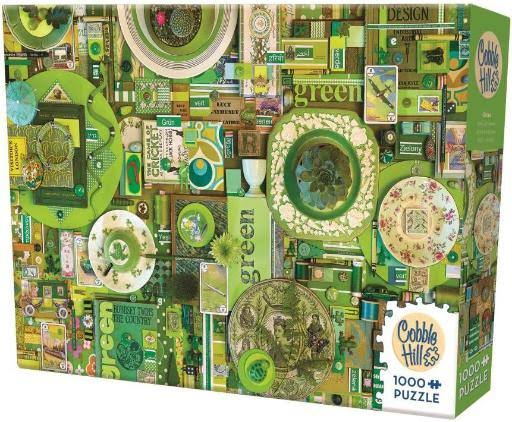Cobble Hill Jigsaw Puzzle - Green, 1000ct