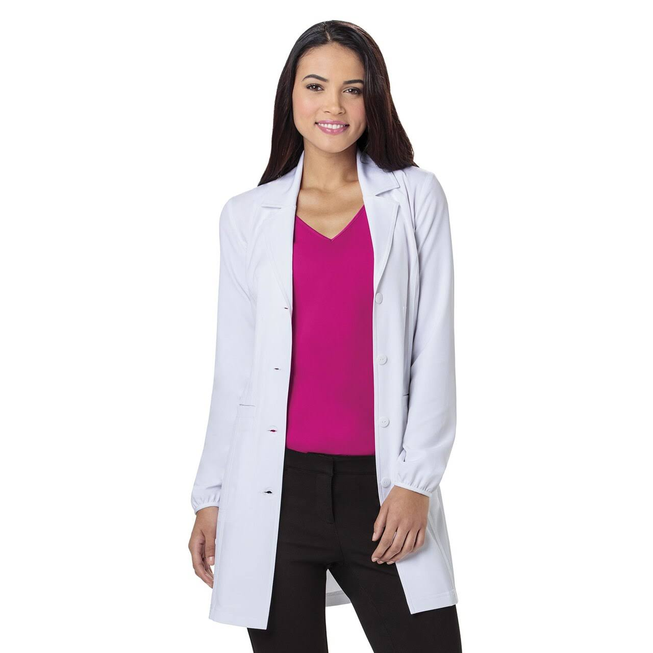 Heartsoul Labsolutely Fabulous Lab Coat - White, Medium, 34""