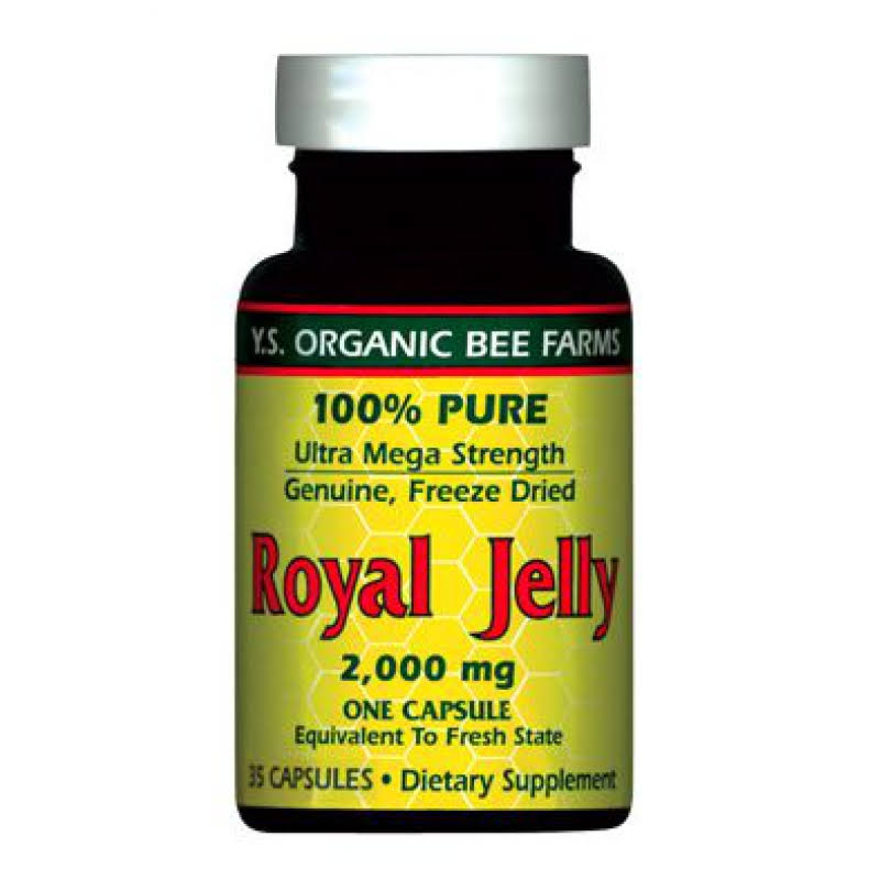 Y.S. Eco Bee Farms Royal Jelly - 2,000mg, 35 Capsules