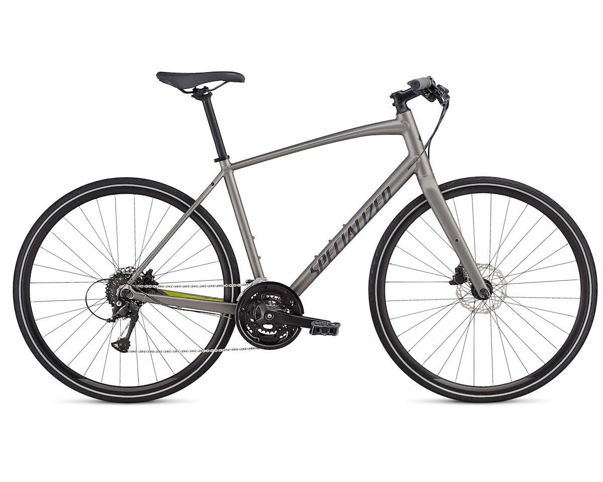 Specialized Men's Sirrus SL Bike-Sterling Grey/Ion/Black Reflective