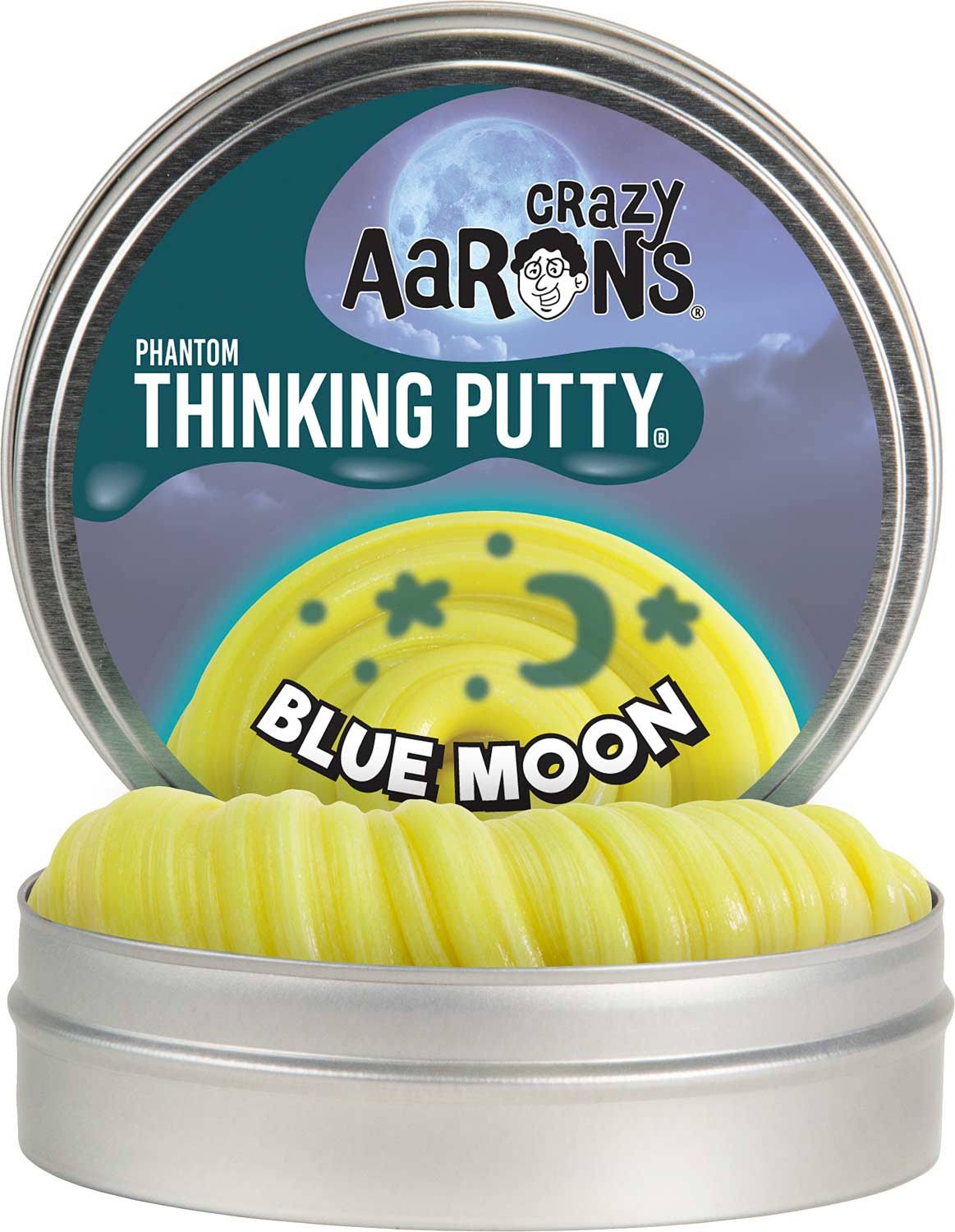 Crazy Aaron's Thinking Putty Blue Moon
