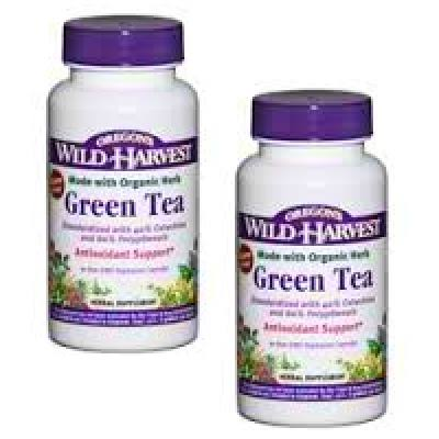 Oregon's Wild Harvest Green Tea Supplement - 90ct