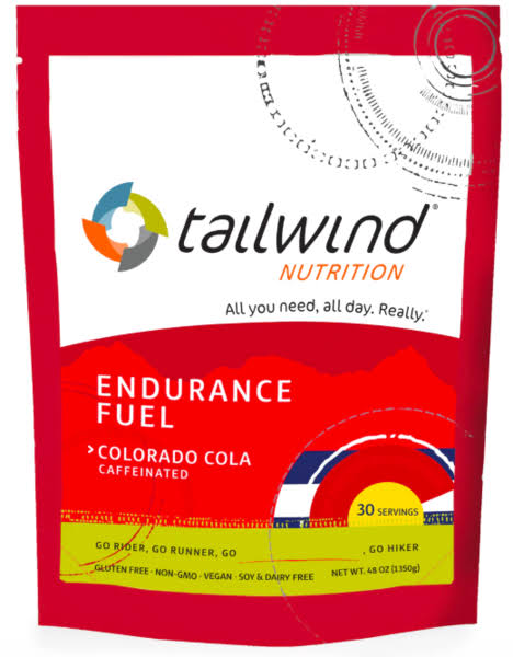 Tailwind Caffeinated Endurance Fuel Drink 30-Servings Nutrition Colorado Cola