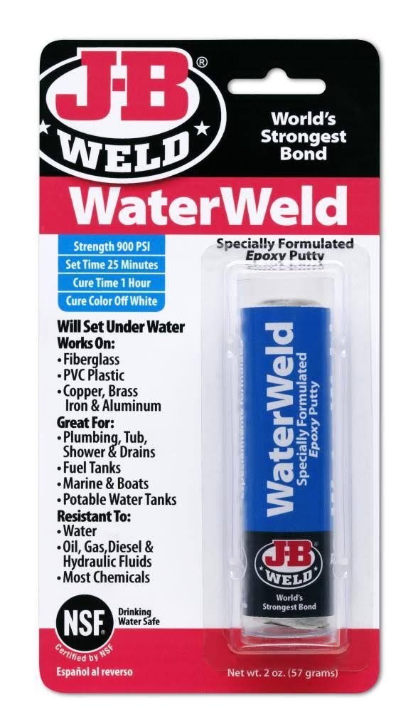 J-B Water Weld Epoxy Putty Stick - 57g