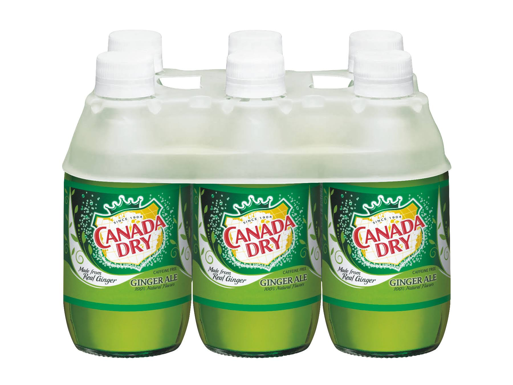 Canada Dry Ginger Ale, 6-Pack - 6 pack, 10 fl oz bottle