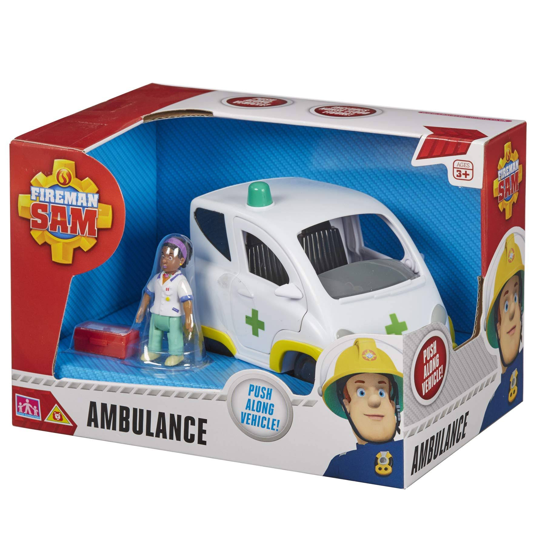 Fireman Sam Ambulance Vehicle Toy