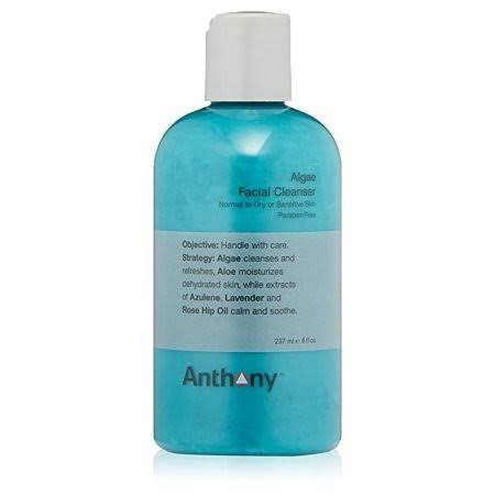 Anthony Algae Facial Cleanser for Men - 8 fl oz bottle