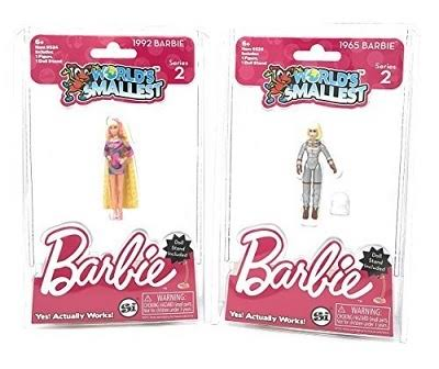 World's Smallest Barbie Series 2 Totally Hair & Astronaut Assortment