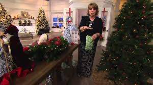 Bethlehem Lights Christmas Trees Qvc by Bethlehem Lights Mixed Greens And Berry Swag Or Urn Filler On Qvc
