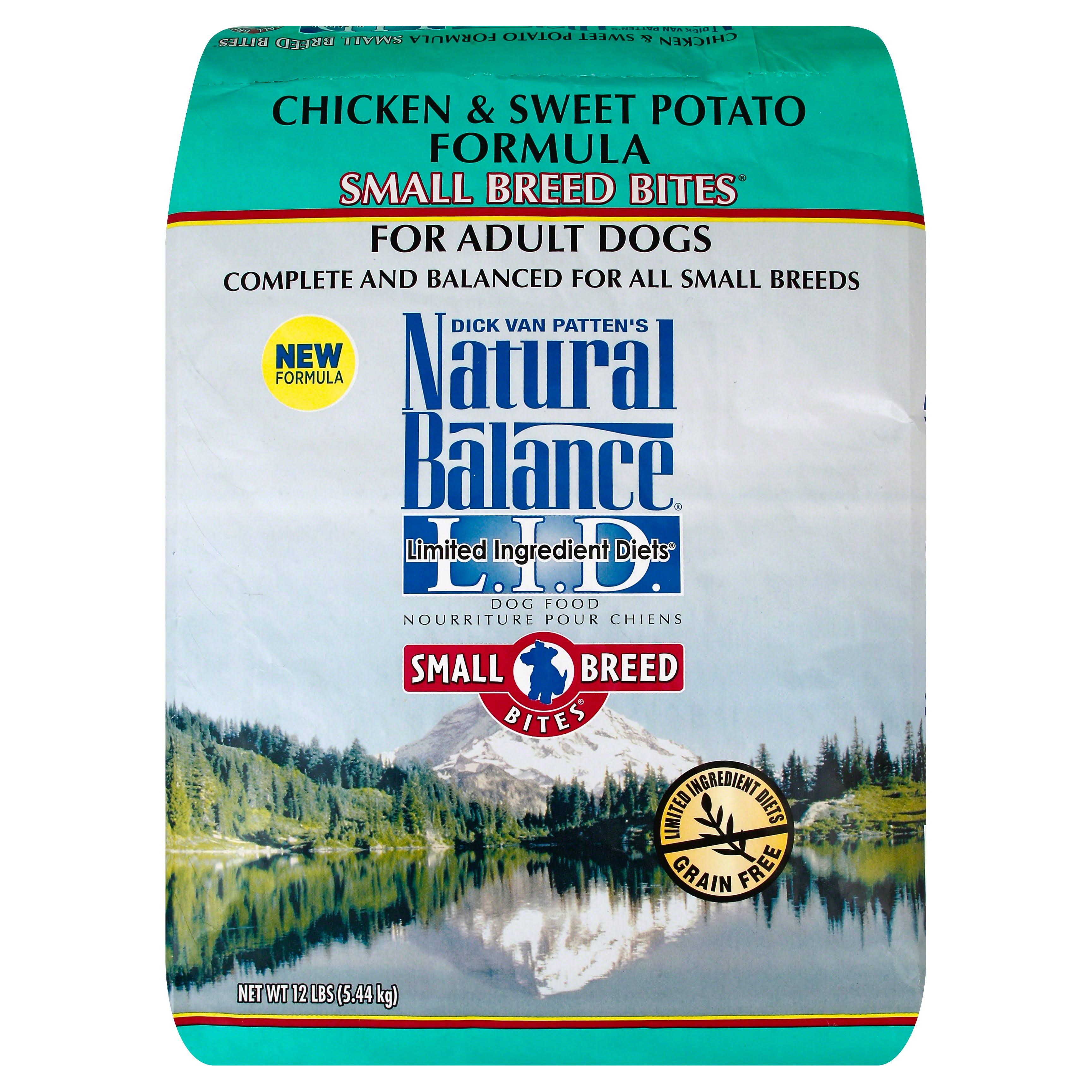 Natural Balance Small Breed Bites - Sweet Potato & Chicken
