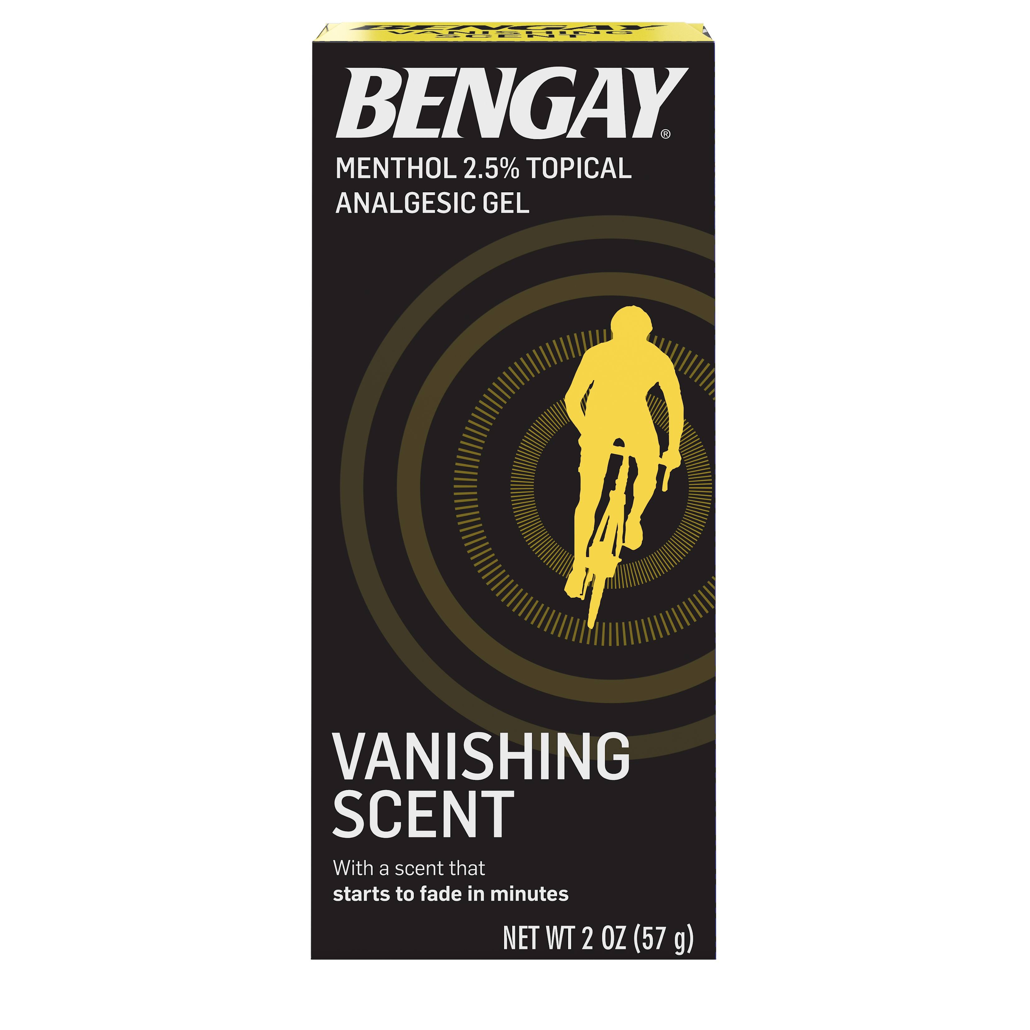 Bengay Vanishing Scent Analgesic Gel - 2oz