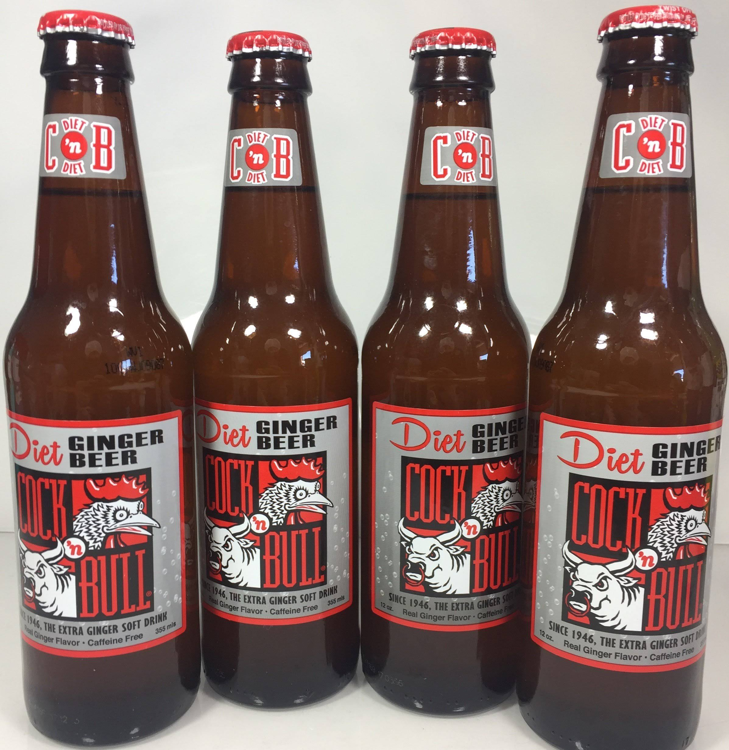Cock 'N Bull Diet Soda - Ginger Beer
