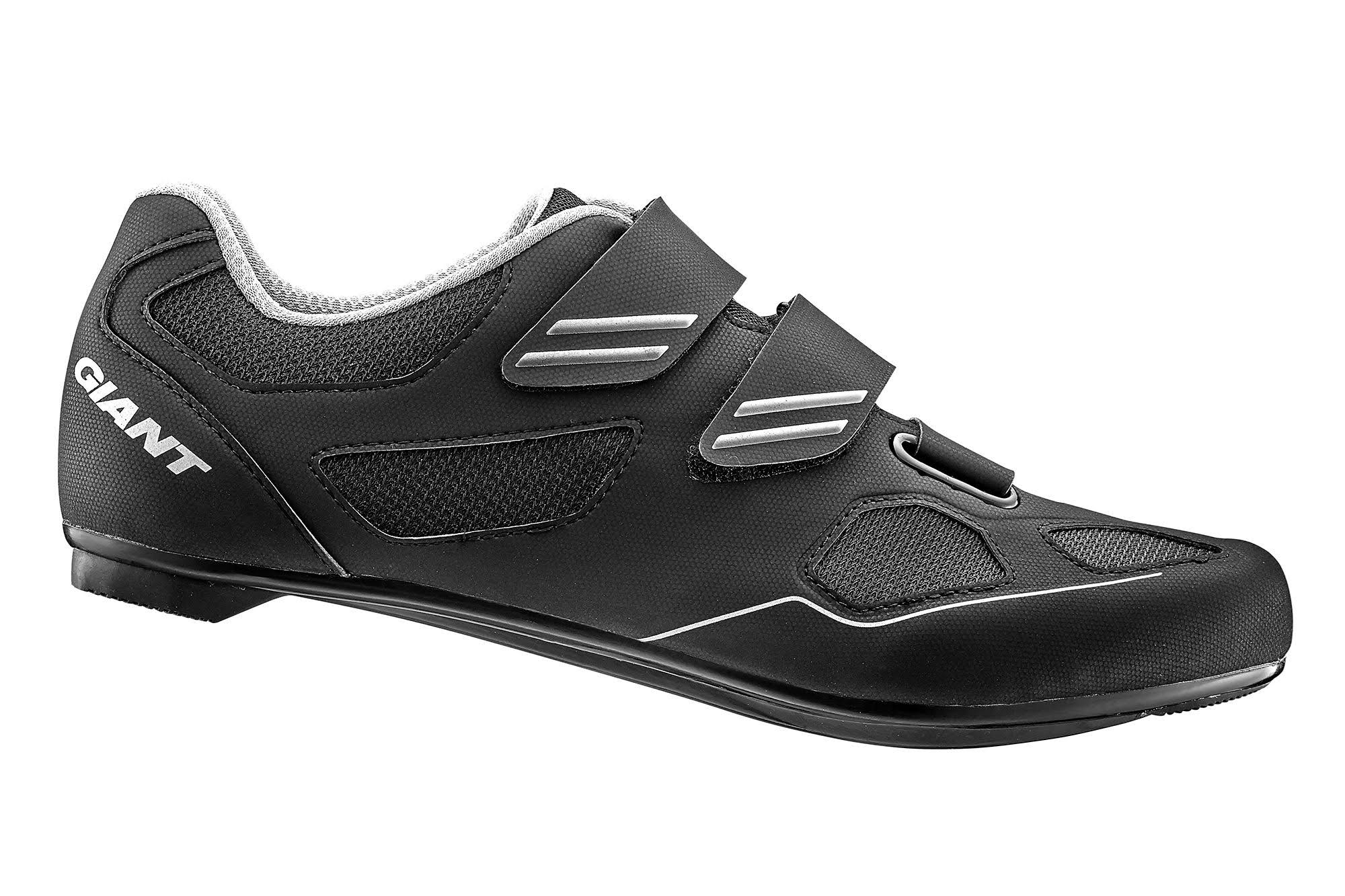 Giant Bolt Road Shoes - Black/Silver
