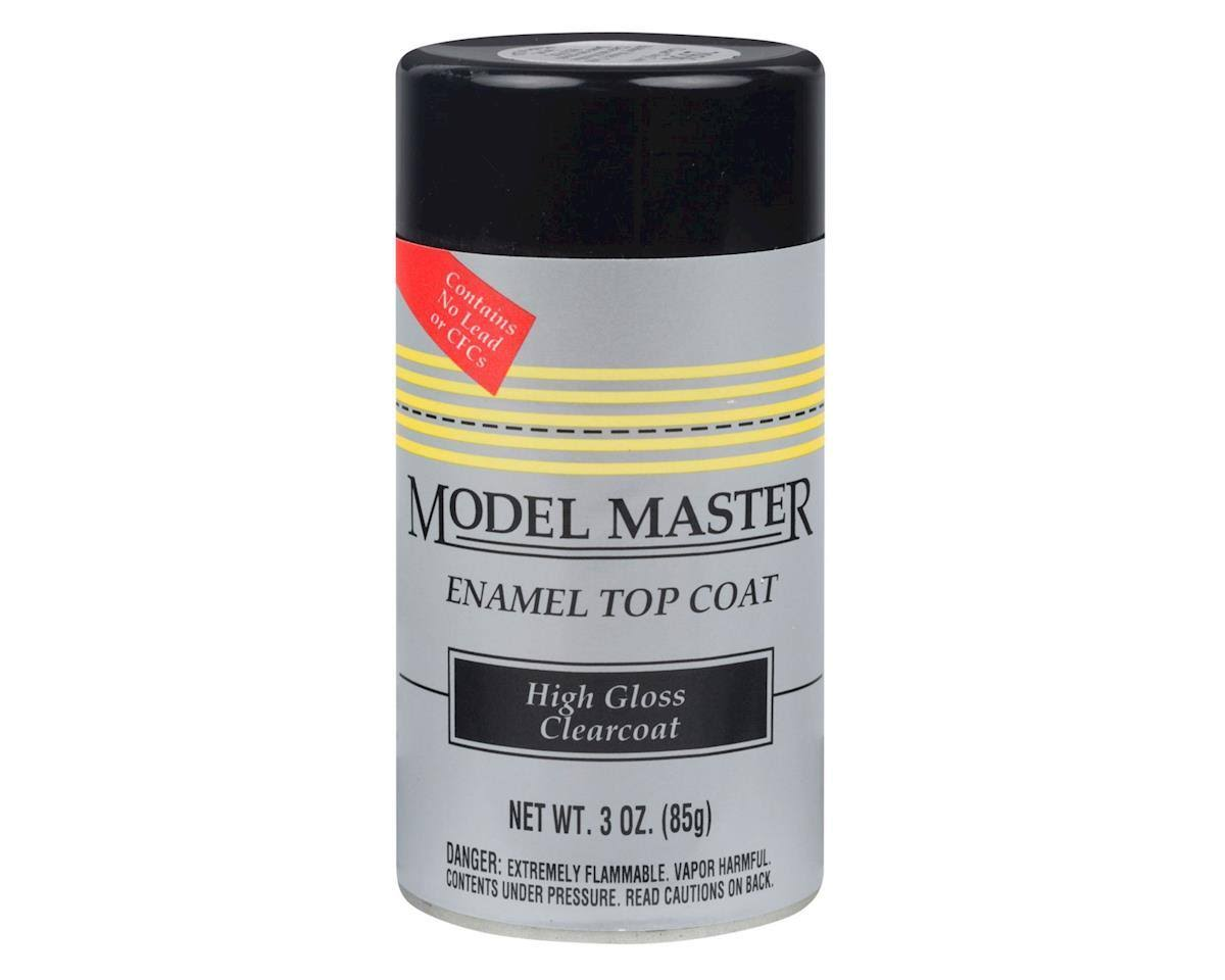 Testors Model Masters Enamel Top Coat - 85g, Clearcoat