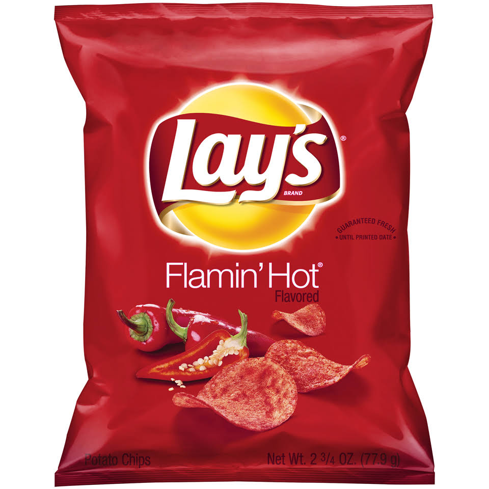 Lay's Potato Chips - Flamin' Hot, 2.75 oz