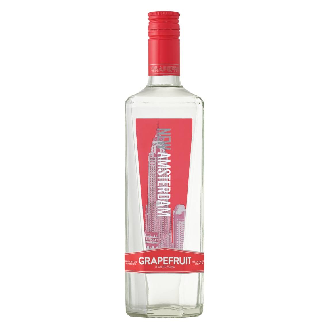 New Amsterdam Grapefruit Vodka 750ml