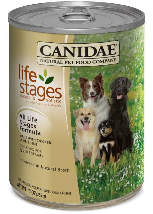 Canidae All Life Stages Dog Wet Food - Chicken, Lamb & Fish, 369g